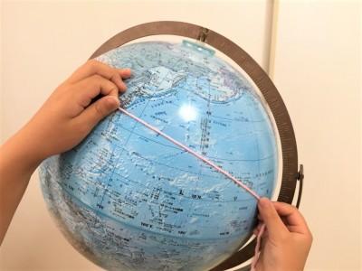 リビングに地球儀を置こう!子どもの世界観が広がる活用術