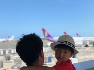 【子連れ海外旅行】飛行機の中であったらいいものハワイ編