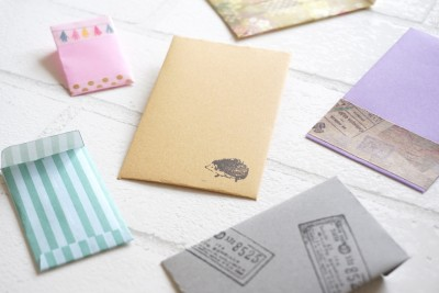 【簡単封筒作り】テンプレートでオリジナル封筒が作れちゃう!
