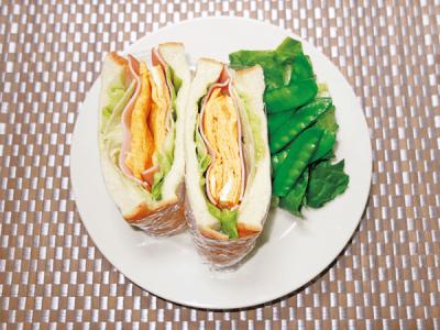 【パン・粉ものアレンジ】夏休みランチカレンダー2018 <たっぷりサンドイッチ>
