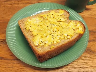 【パン・粉ものアレンジ】夏休みランチカレンダー2018 <楽ちん卵サラダトースト>