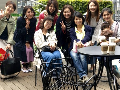 「あんふぁん、あなたも継続会」「神戸屋パン食べ放題」参加。メイト活動!