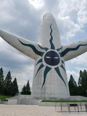 【レポ】太陽の塔内部公開と平日のエキスポシティ