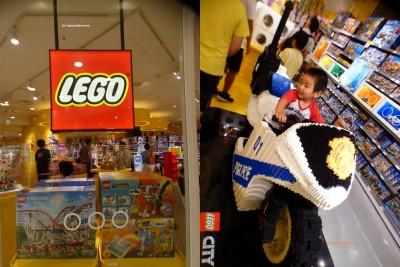 【LEGO】国内最大規模の大阪レゴストア!実際乗れる3Dレゴも!!