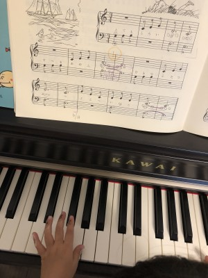 ピアノの練習が進まない時にやってみたこと!