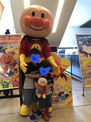 【2歳児映画デビュー!】アンパンマンの映画を観に行ってきました!