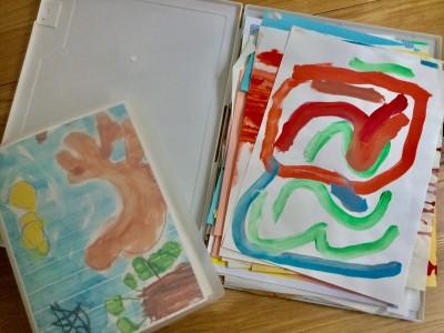 増え続ける子どもの作品を整理&収納するワザとコツとは