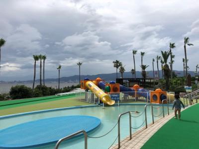 すわ貸切状態!?夏休み前のリゾ鳴尾浜でプライベートプール気分満喫