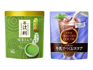「抹茶ミルク やわらか風味」「牛乳でつくるココア」のセットを5人に!