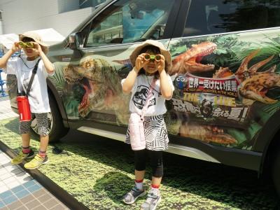 リアルな恐竜ショー!世界一受けたい授業TheLive恐竜に会える夏!
