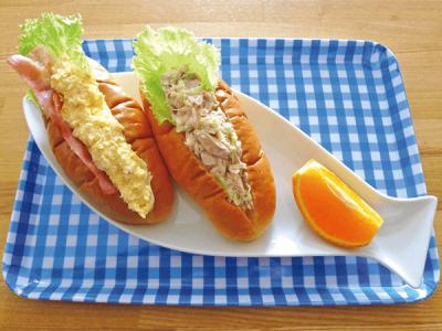 【パン・粉ものアレンジ】夏休みランチカレンダー2018< ロールサンド>