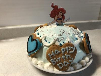 【誕生日】女の子ママ必見!手作りで可愛いプリンセスのドレスケーキ!