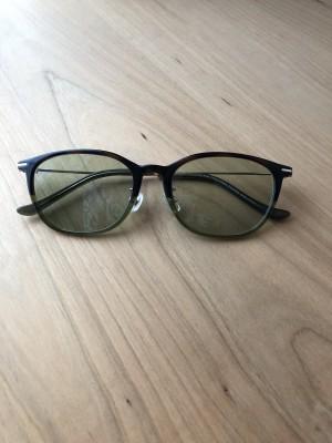 快適!度付きサングラス買いました