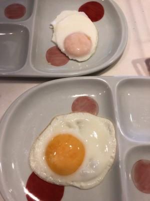 【目玉焼き】ピンク派?黄色派?焼き方の違い