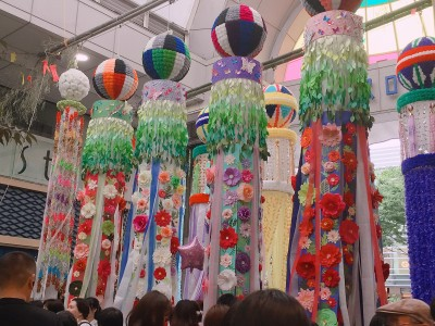 東北三大祭り!仙台七夕まつりに行ってきました♪