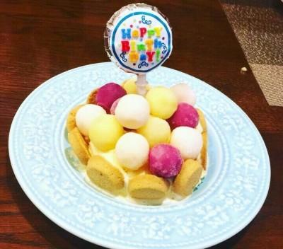 【簡単子どもとできる】10分でアイスケーキ!!