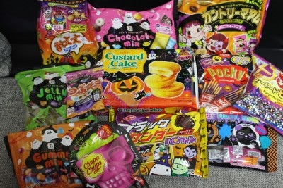 ハロウィン限定パッケージのお菓子が続々入荷中!売り切れる前に購入せよ。
