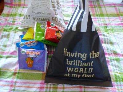 【100均】ダイソーお土産をテトラ型に可愛く包装してプレゼントしよう!