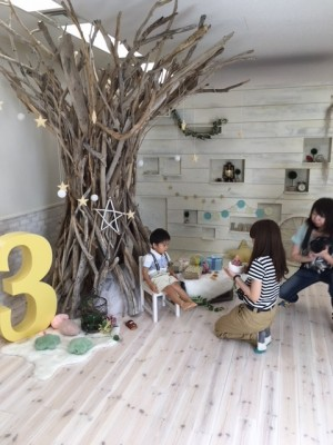 家族Photoにおすすめ♡プレシュスタジオで七五三&BD撮影