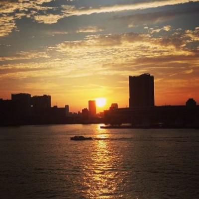 息子が船長さんに⁉東京湾クルーズで夕涼み♪