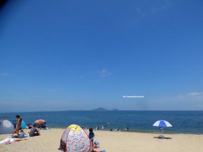 【海水浴】アラフォーママの水着はもちろん〇〇〇!