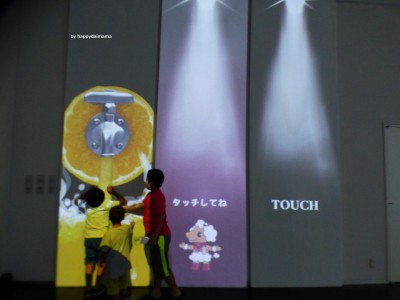 【3Dプロジェクトマッピング展】色で織りなす花タオル物語!