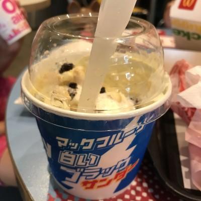 【マックフルーリー白いブラックサンダー】食レポ