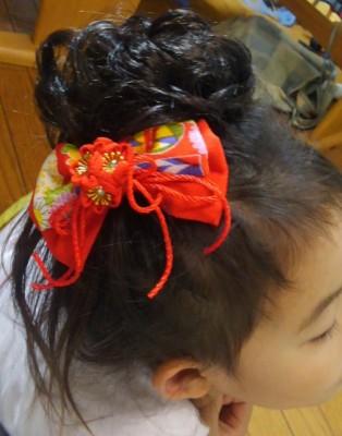 【ダイソー】完売必至!七五三髪飾りで自宅で簡単ヘアアレンジ【女の子】