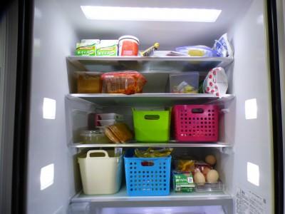 コメントがきっかけで冷蔵庫内を、セリアグッズで整理整頓してみました!!