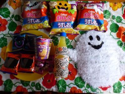 ハロウィンコラボ菓子で子供と楽しむハロウィン!!