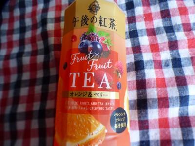 【新商品】午後の紅茶Fruit×Fruit TEA オレンジ&ベリー♡
