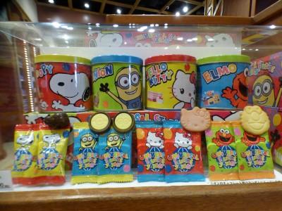 【USJグッズ】USJのキャラクター勢ぞろいのお菓子特集!!