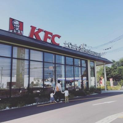 日本で3店舗のみ!【KFC ケンタッキーカフェ&レストラン】@所沢