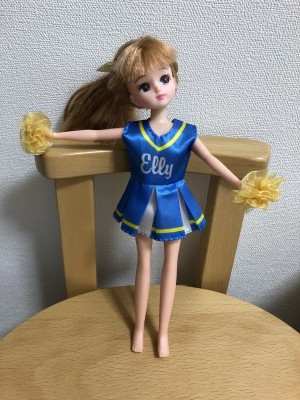【DAISO】エリーちゃんの服が○○ちゃんにも着せられる!