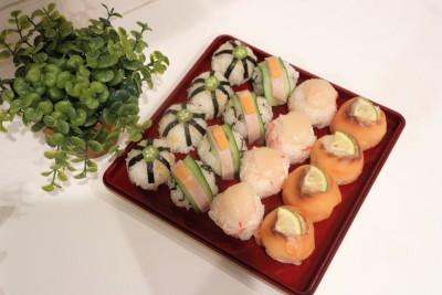 【七五三】簡単でおいしいカラフル手まり寿司★