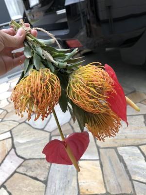 【枯れたお花は再利用♪】流行りのスワッグ作りで二度楽しめる!!