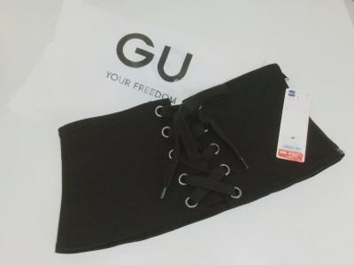【gu】コルセットベルトが驚異の100円?!