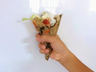 【運動会・遠足】かわいい♡花束風おにぎり