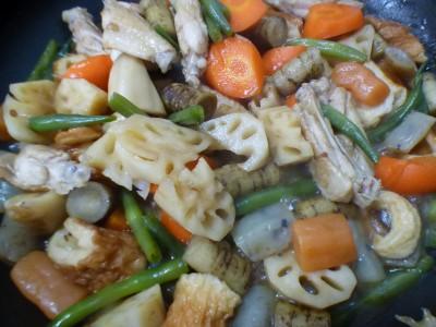 食欲の秋♡手羽中で作る煮物が美味しい