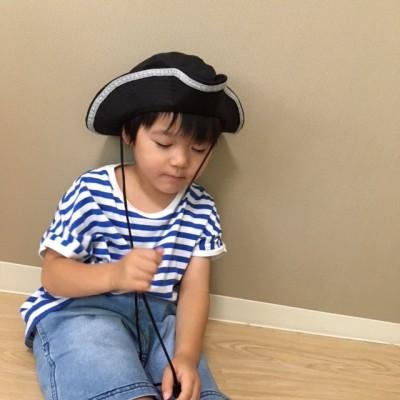 ハロウィンに♡簡単リメイクで海賊帽の作り方☆