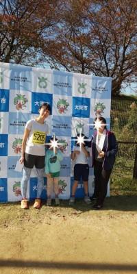 大東市民マラソン2018の結果、5km女子の部は表彰式無しで後日繰上。