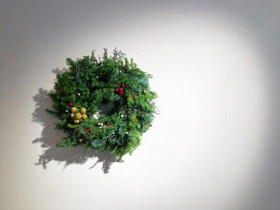 【ハンドメイド】夢中になって作ったクリスマスリース
