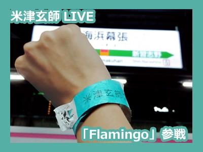 【おでかけ】米津玄師LIVE「Flamingo」参戦!今更誰得レポ