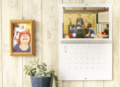 写真家とママの目線でイチオシの「フォトカレンダー」、プレゼントにも!