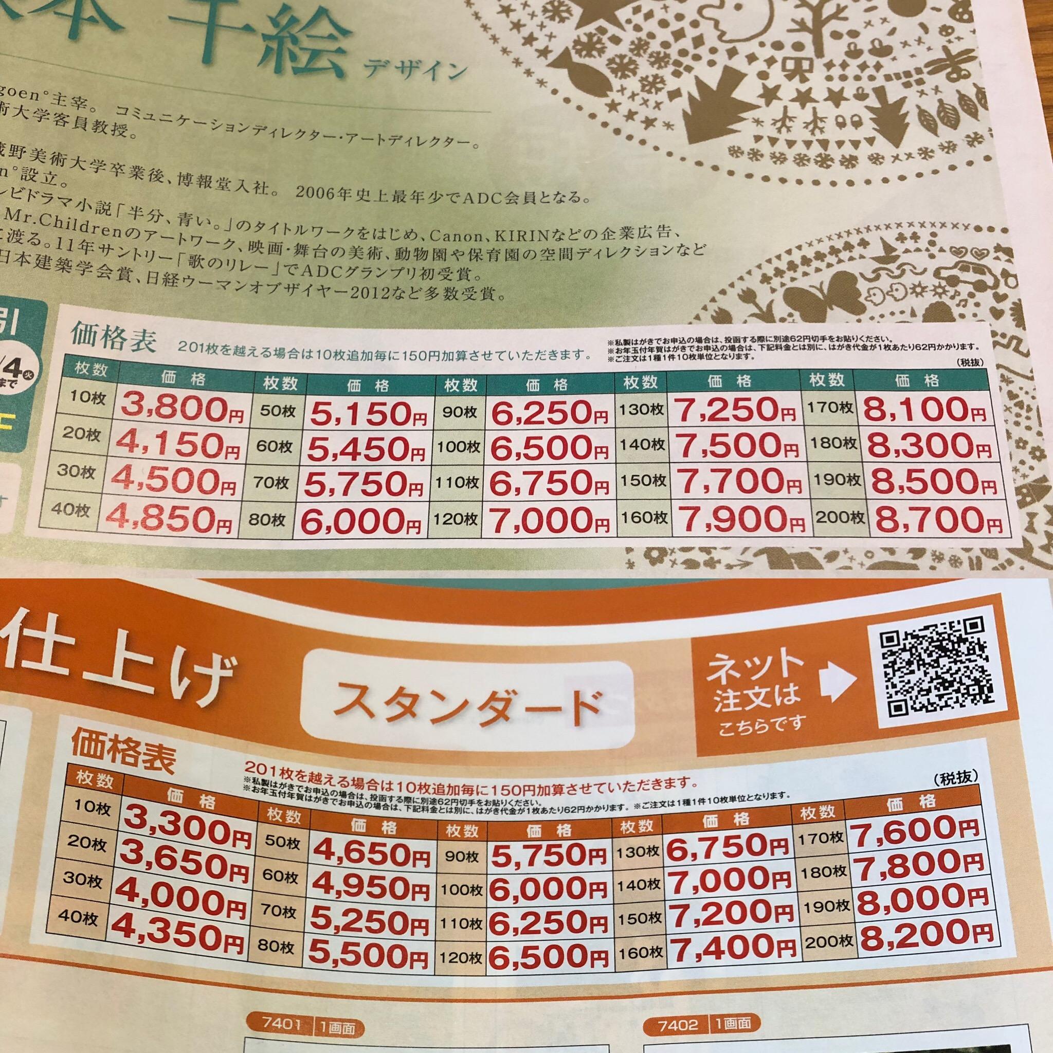 年賀状 印刷 キタムラ