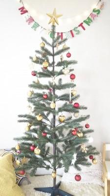 【IKEAのクリスマスツリー】プチプラでおしゃれに飾りつけ!