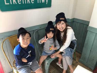 激安通販【ヒラキ】衝撃価格¥480ニット帽でおしゃれリンクコーデ!!