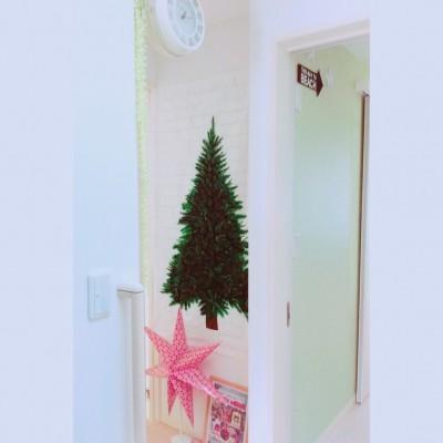 狭い部屋や空間のクリスマス飾付けアイディア♪