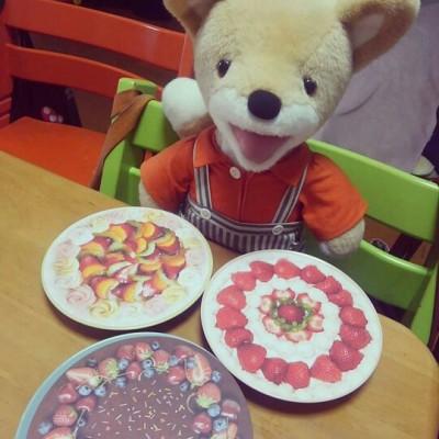 【セリア】丸型折り紙にケーキ柄も発見!おままごとがもっと楽しく♪
