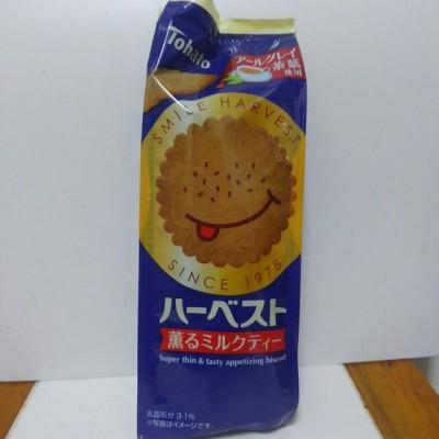 【新作レポ】東ハトハーベスト薫るミルクティーはさくさく上品な味!